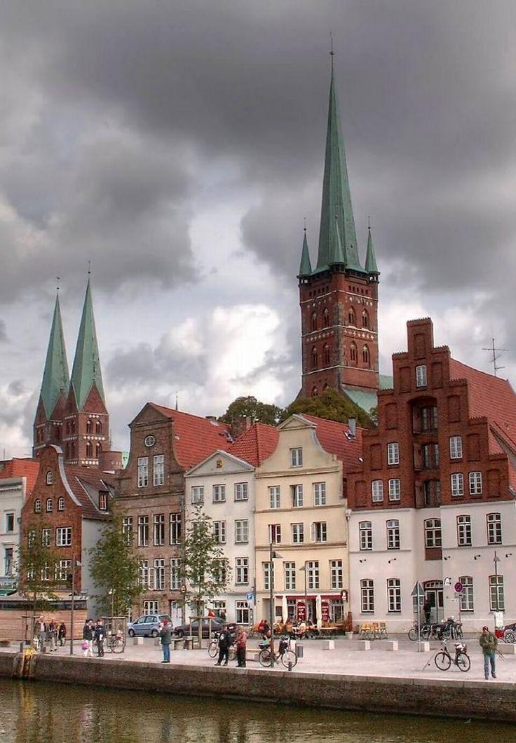 Lübeck, Schleswig-Holstein, Germany | by luzzzelmann