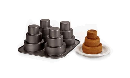 mini 3 tier cake pan instructions