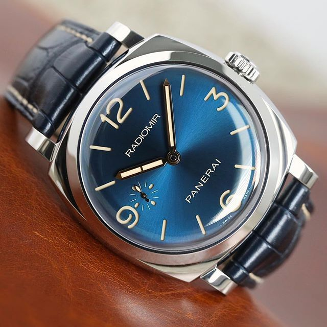 Panerai Radiomir 1940 Blue Dial Special Edition | by @bharmon417 | #PAM690 #SwissWatches