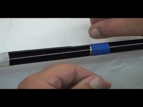 How to - Build a fishing rod Part 2 - YouTube