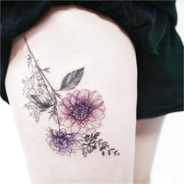 Consulta esta foto de  de tattooist_flower � 14 mil Me gusta #TattooInspiratio…