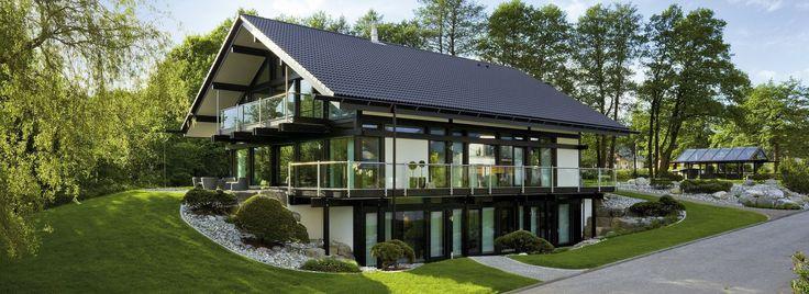 modernes fachwerkhaus individuelle fertigh user huf. Black Bedroom Furniture Sets. Home Design Ideas
