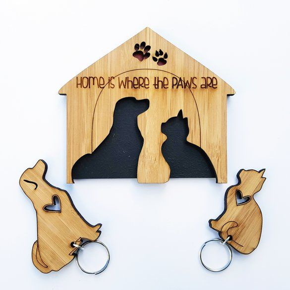 Our cute furrkids lovers special key chain set by HALLO JANE | Hello Pretty. Buy design. #lovezabuyza