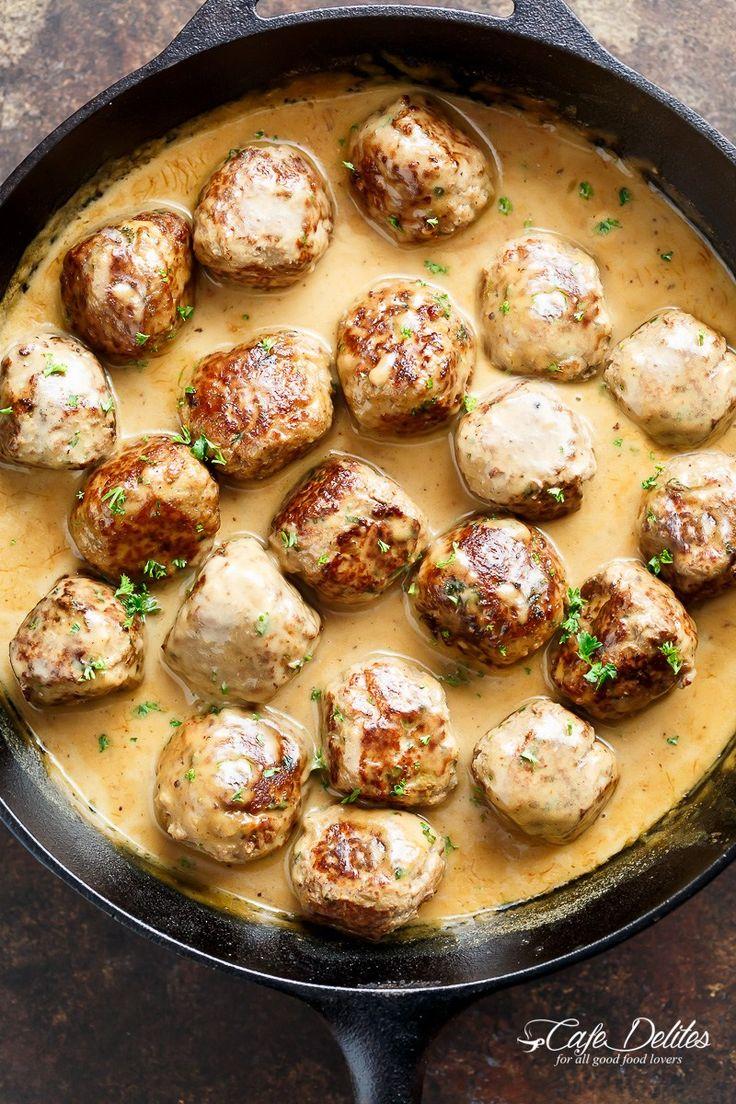 Swedish Meatballs - Cafe Delites