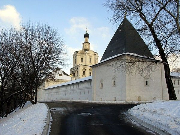 «Андроников монастырь» — Moscow Russia