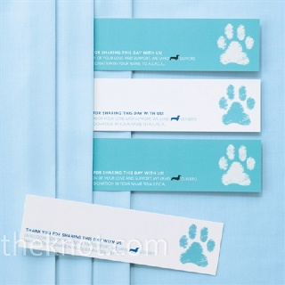 Charity card favorIdeas, Animal Shelters, Dog Paws, Engagement Photos, Dog Paw Prints, Dogs Paw Prints, In Lieu Of Wedding Favors, Parties Favors, Charity Cards