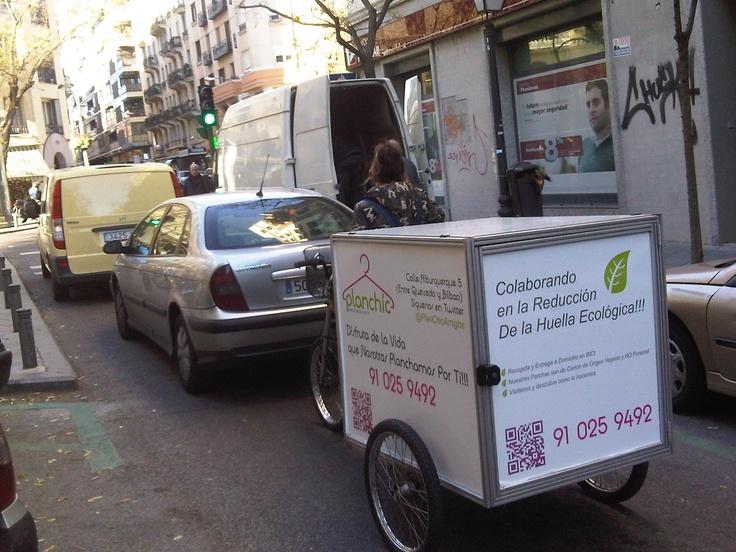 Servicio planchado de ropa madrid en bici chic - Planchado de ropa ...