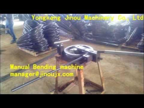 Manual Bending Machine  Aluminium ladder making machine