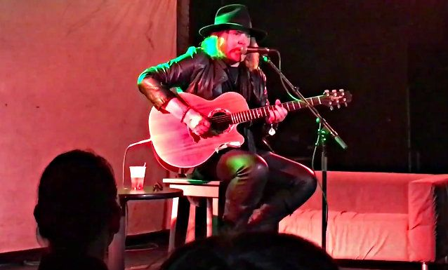 DON DOKKEN Performs Acoustically At 'A Nightmare On Elm Street 3: Dream Warriors' 30th-Anniversary Event