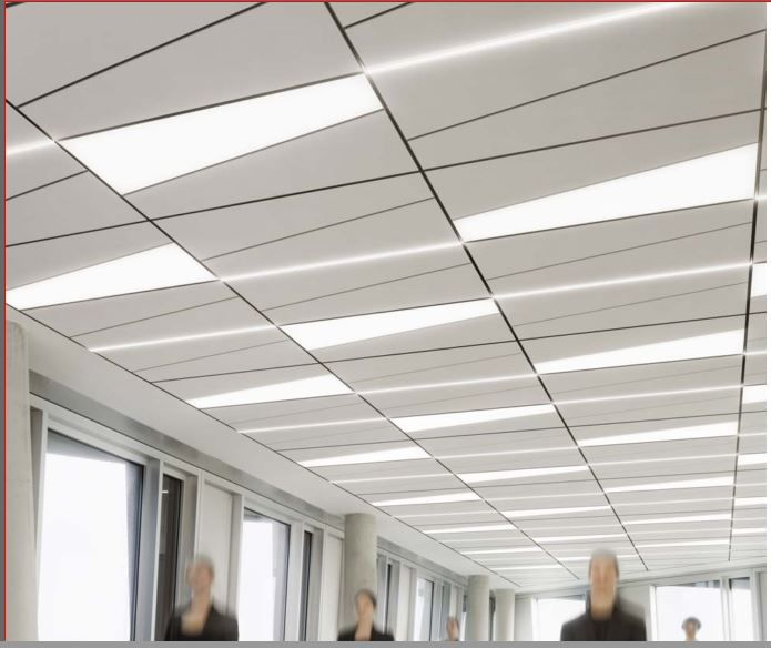 Ceiling Led Lighting Systems : This is the owa trapeze system with trap led lighting