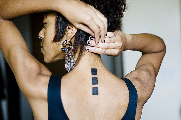 75 Graphically Gorgeous Geometric Tattoos   ( can anyone tell me what these 3 squares mean? )