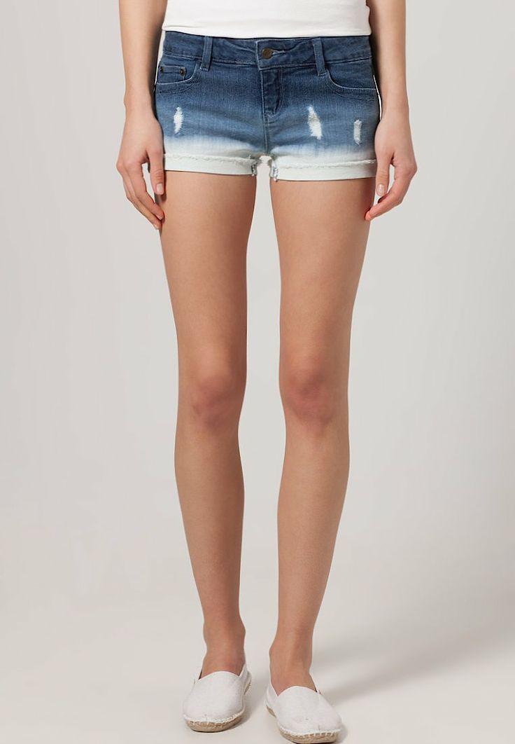 Buffalo - Jeans shorts - Blauw