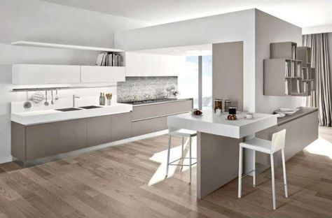 Abbinare il pavimento al rivestimento della cucina - Cucina moderna ...