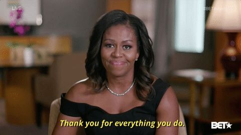 New party member! Tags: michelle obama betgifawards2017 bet awards 2017 thank you for everything you do