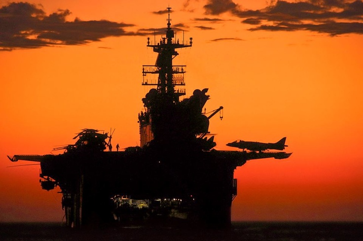 Amphibs: Military Ships, Ships Uss, Uss Makin, Aircraft Carrier, Red Sky, Shared Image, Makin Islands, Military Pictures, Marines Corps