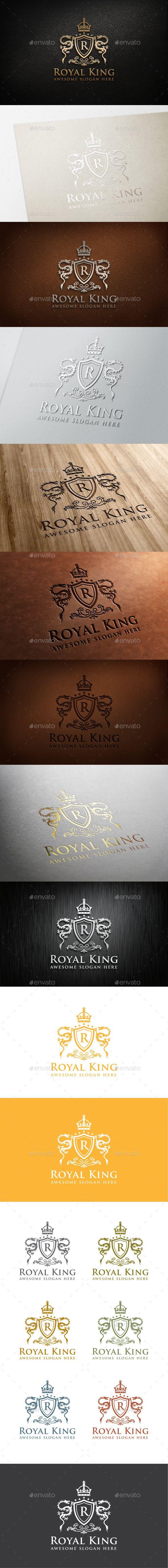 Royal King Logo Template 57 best Crests