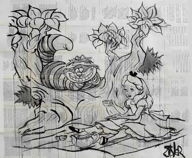 "Saatchi Art Artist Loui Jover; Drawing, ""wonderland"" #art"