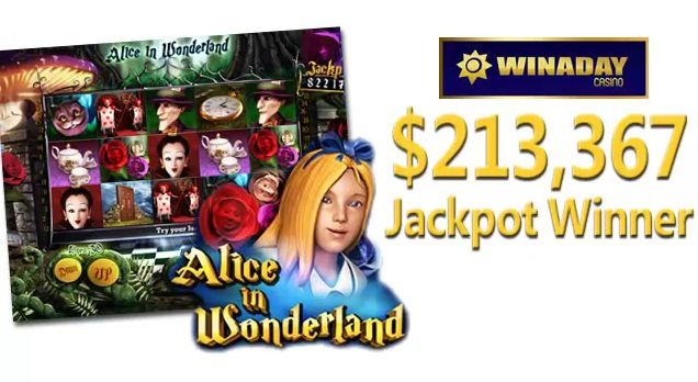 WinADay Slots Player Hits $213,367 Jackpot