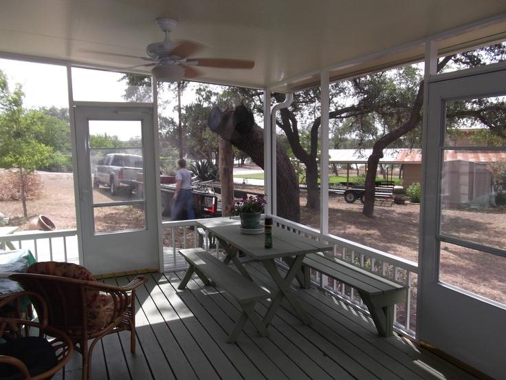 Enclosed Covered Patio Austin TX
