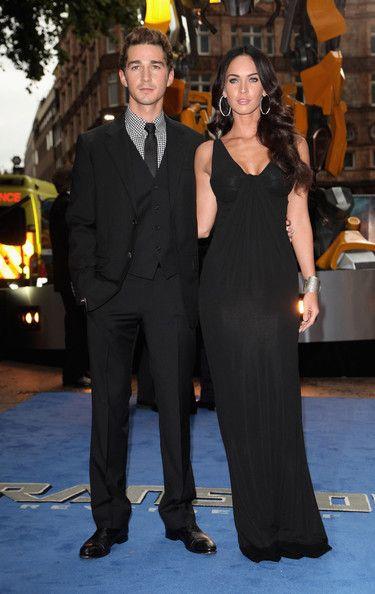 Shia LaBeouf and Megan Fox - Transformers: Revenge of the Fallen - UK Premiere 2009