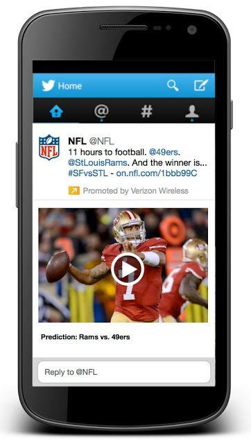 Twitter transmitirá en vivo el Thursday Night Football de la NFL   Twitter ganó los derechos por los que Facebook Verizon y Amazon estaban compitiendo. La alianza entre Twitter y la NFL estaría valorada en US$10 millones.  Twitter obtuvo los derechos para transmitir 10 juegos de la NFL en vivo informó la liga de fútbol americano el lunes.  Los partidos que se transmitirán a través de la red social corresponden a diez juegos de la temporada regular. Estos serán a elegir de los encuentros que…