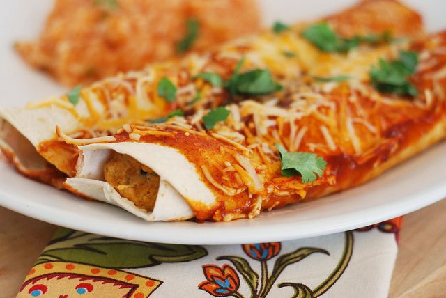 Butternut Squash Enchiladas....made these (with corn tortillas of ...