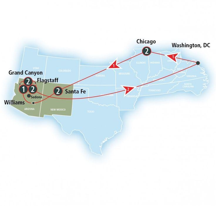 Washington Dc Popout Map%0A A scenic  national park trip awaits on this roundtrip journey to the Grand  Canyon  Begin in Washington  DC  u     ride the Capital Limited  u     Southwest  Cheif