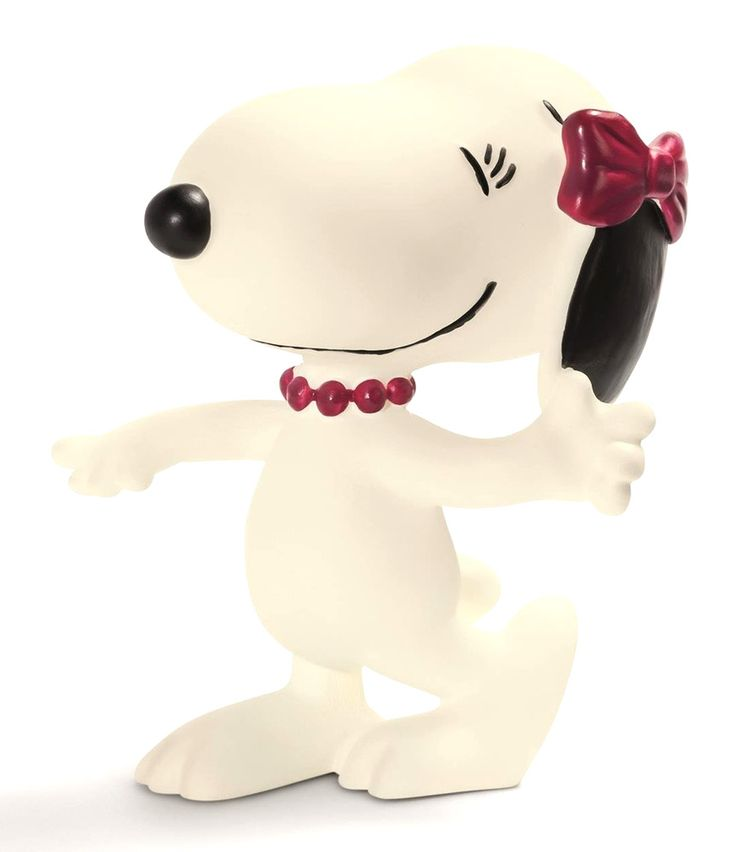 Snoopy Toy Figure Hand Painted Peanuts Belle Figure, Highly Detailed 22004 #Schleich