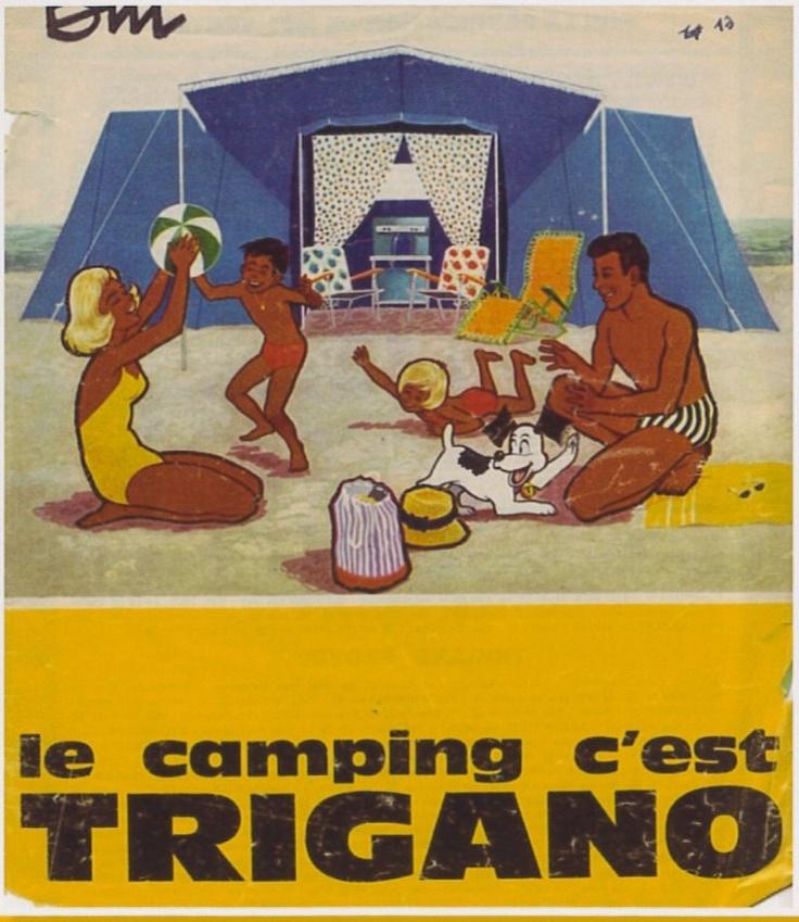 On dirait presque du Gauguin, non ? #trigano #camping