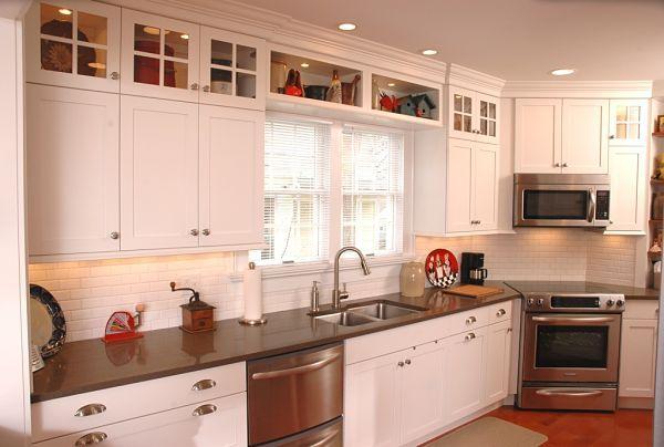 Best 25 galley style kitchen ideas on pinterest kitchen for Galley kitchen cabinets for sale