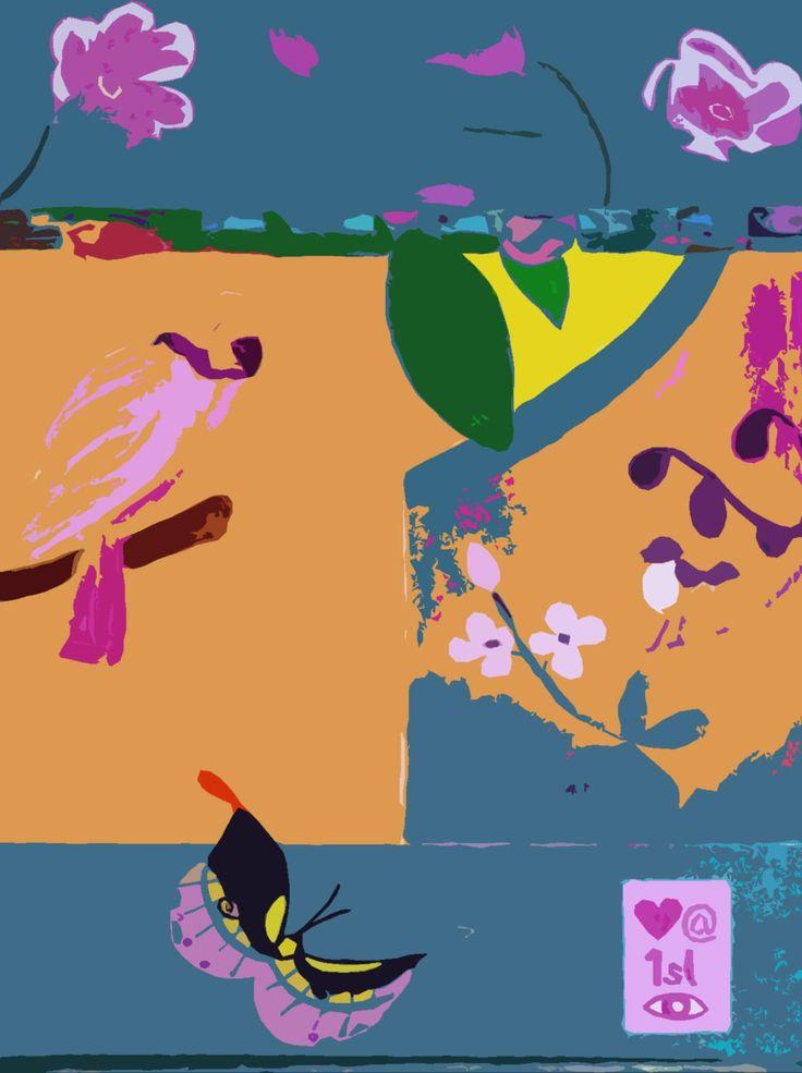 Anneli Kent Screenprint/Painting