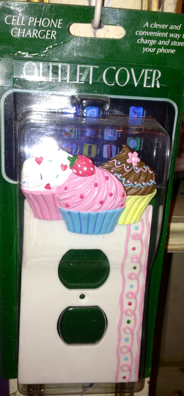 Cupcake outlet cover!