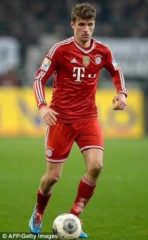 Thomas Muller my favorite Player:) GO Bayern!