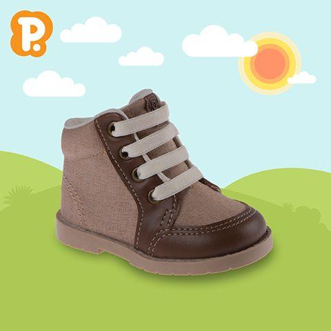 Para as mamães que têm filhos aventureiros, nossa linha Trekking chegou chegando! A botinha é fácil de calçar, confortável e superleve, além de proteger os tornozelos dos pequenos nas ocasiões mais radicais! :P Disponível do 20 ao 25.