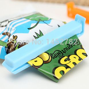 5PCS/Set Creative Home Bags Seal Clip of Candy Colored Food Fresh Snack Moisture Sealing Clip