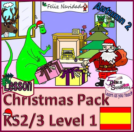 christmas primary spanish lesson pack ks2 3 jingle bells words music ks2 3 primary. Black Bedroom Furniture Sets. Home Design Ideas