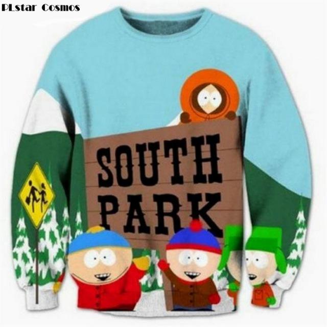3d Print Mens Womens hoodies Sweater Sweatshirt Anime South Park Pullover Tops
