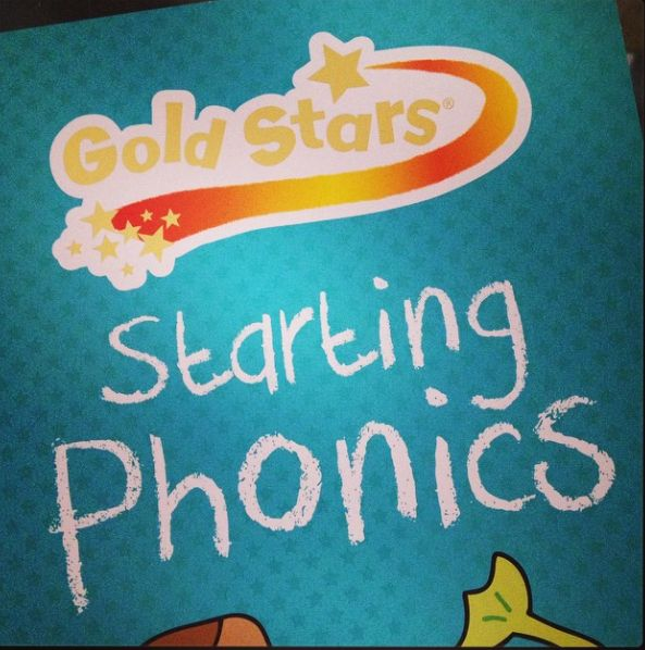 Doing another page of our #SummerwithGoldStars Challenge #phonics #schoolstartssoon
