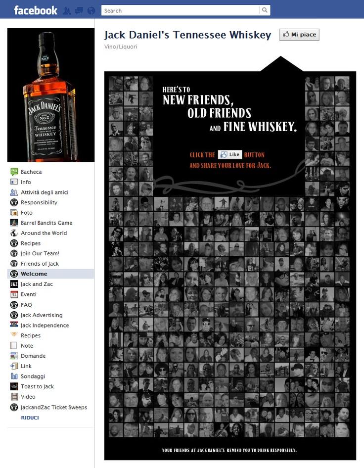 Tab Facebook: Jack Daniel's