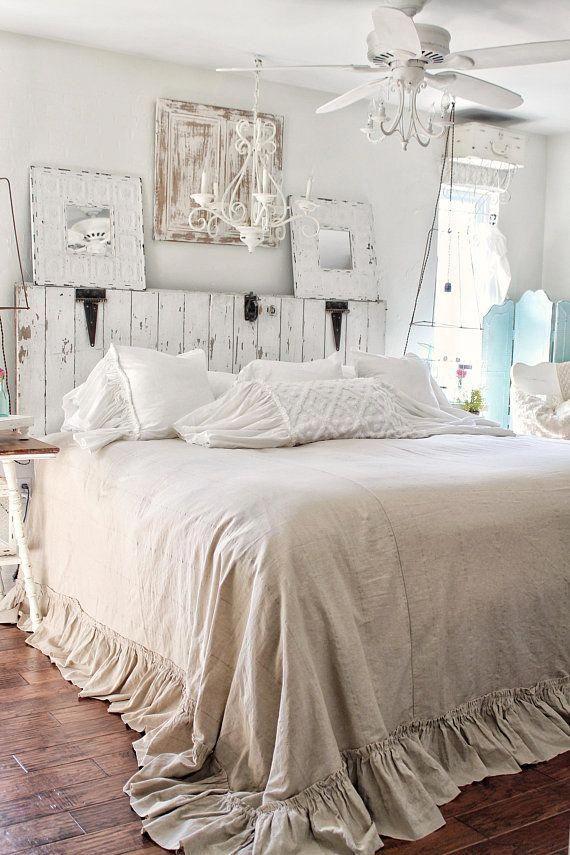 ruffled bedspread shabby chic bedding ruffled bed cover top shabby rh pinterest com