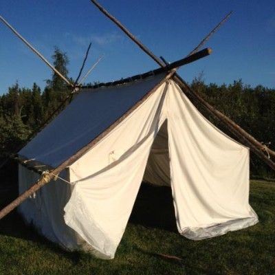 Canvas Wall Tents - Fort McPherson Tents