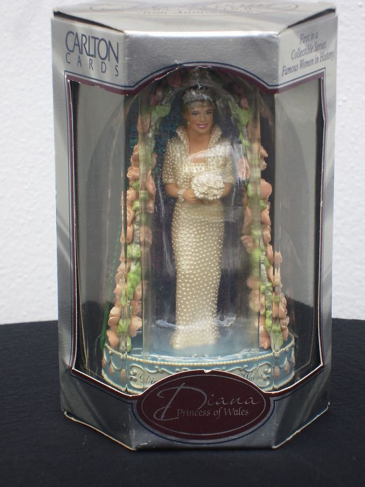 NEW Diana Princess of Wales Ornament Heirloom Carlton Cards 1st in Series 1998