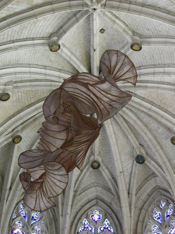 Ethereal Paper Sculptures by Peter Gentenaa