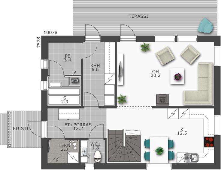 Design-Talo D2 149a muuttovalmiit talot