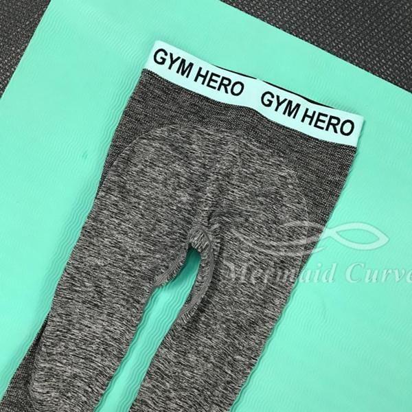 Silver Fitness High Waist Leggings