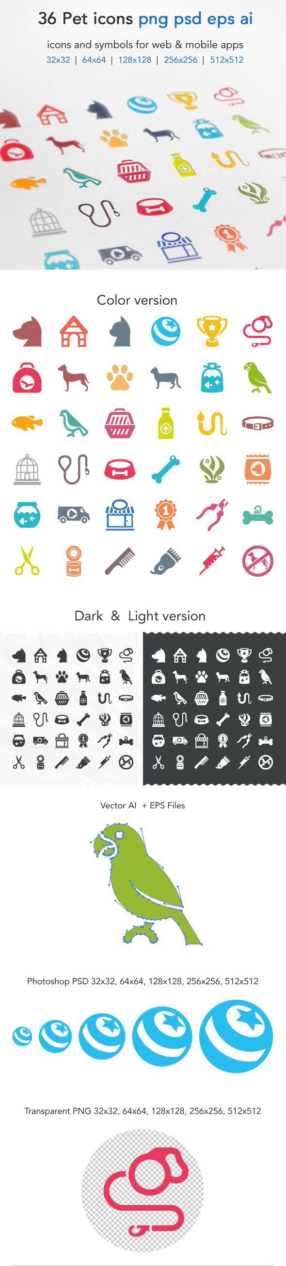 Pet Icons on Behance