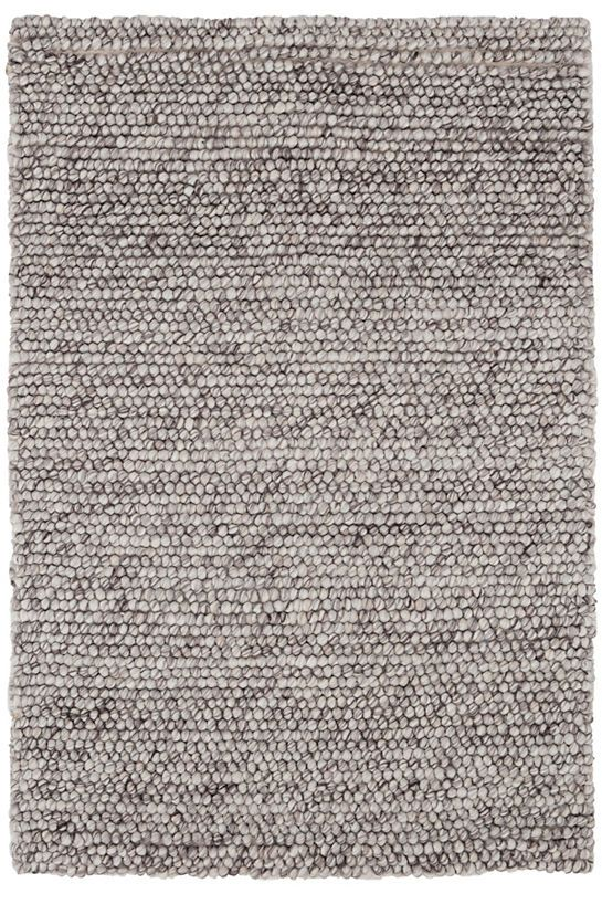 Niels Grey Woven Wool Viscose Rug Dash Amp Albert In 2019