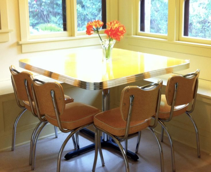 dinette-set-yellow-cracked-ice-cute