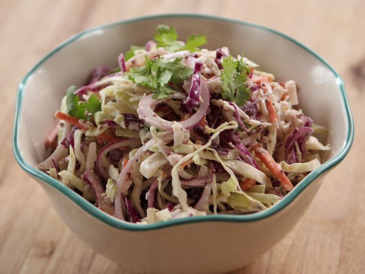 Cole Slaw with Mustard and Horseradish recipe from Ree Drummond via Food Network