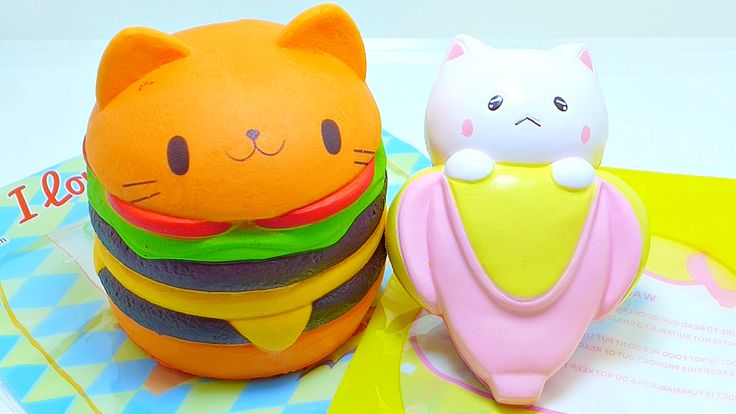 Squishy Hamburger Cat : 97 best Squishy images on Pinterest Bread, Bread squishy and Breads